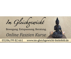 Online Kurs Faszienmassage & Entspannung
