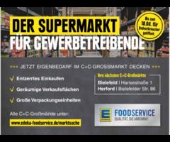 Edeka Foodservice Großmarkt für ALLE geöffnet