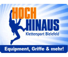 Hoch Hinaus Klettersport Bielefeld